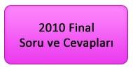 2010 Yılsonu (Final) Soruları ve Cevapları